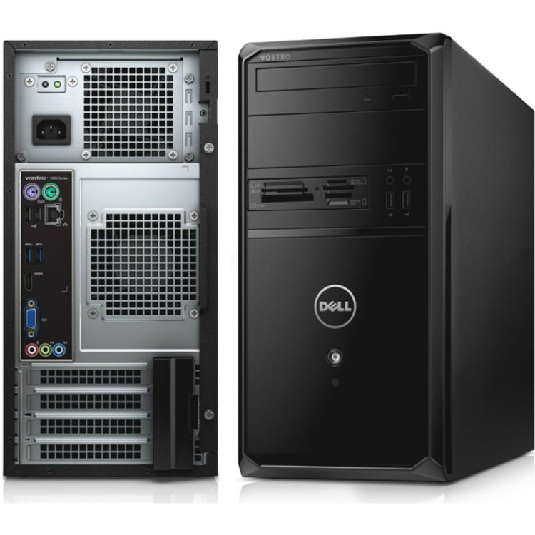 Dell Vostro 3900 MT 3900-4248 3300МГц, 4Гб, Intel Pentium, 500Гб