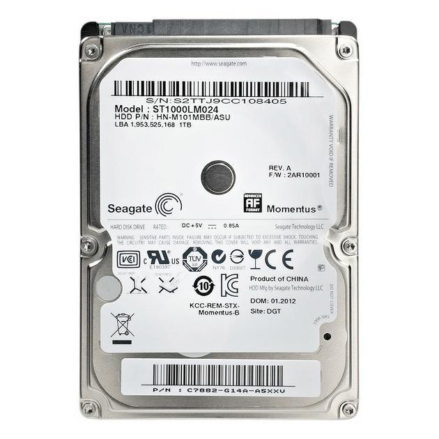"""Жесткий диск Seagate ST1000LM024 1000Гб, 300 Мб/с, 2.5"""" HDD от Байон"""