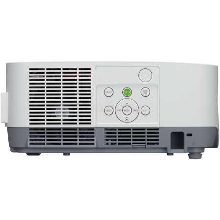 NEC P502H DLP стационарный, Белый