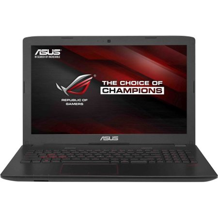 "Asus Rog GL552VW-CN480T 15.6"", Intel Core i7, 2600МГц, 8Гб RAM, Blu-Ray, 2Тб, Серый, Wi-Fi, Windows 10, Bluetooth"