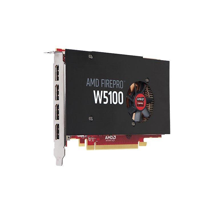 HP AMD FirePro W5100 4096Мб, GDDR5, 930MHz