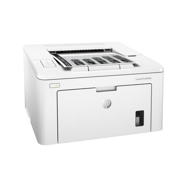 HP LaserJet Pro M203dn Лазерный  светодиодный, Белый, Черно-белая, А4