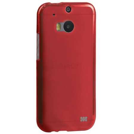 Promate Akton-M8 красн. чехол, пластик, Красный