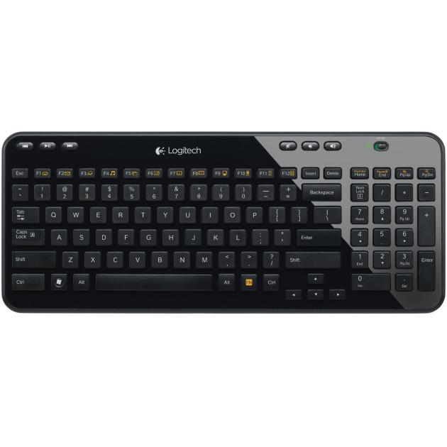 Logitech K360 Bluetooth, Черный