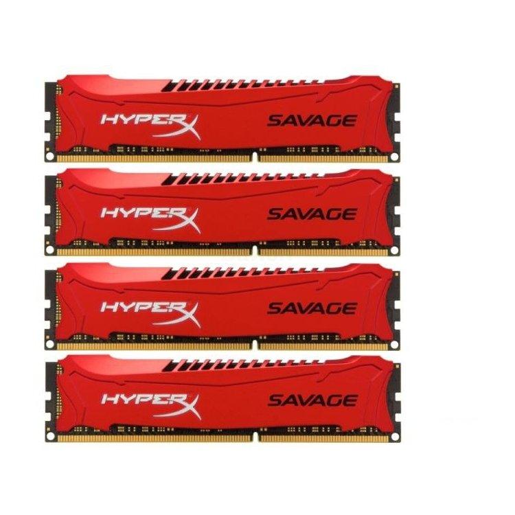Kingston HyperX Savage HX321C11SRK432 DDR3, 32Гб, PC-17000, 2133МГц, DIMM