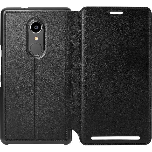 Wallet Folio кожаный черный для HP Elite X3
