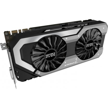 Palit GeForce GTX 1070 JetSteam 8192Мб, GDDR5