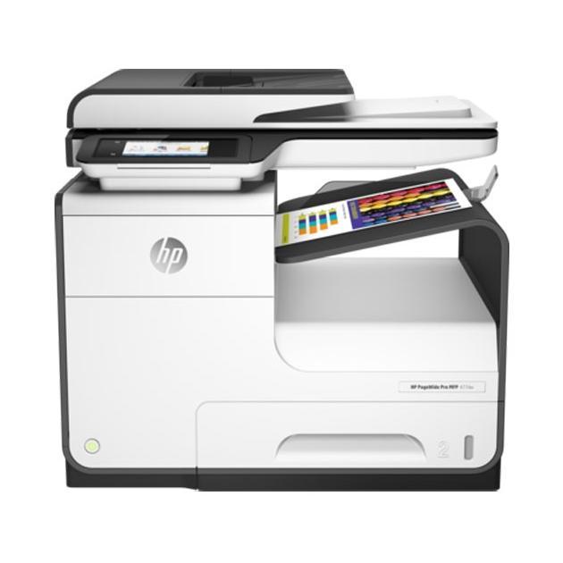 HP PageWide 377dw Лазерный  светодиодный, Белый, Цветная, А4
