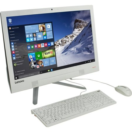 Lenovo IdeaCenter AIO 300 i3-6100U, Белый, 4Гб, 1000Гб