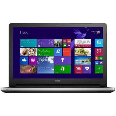 "Dell Inspiron 5555 15.6"", AMD A6, 2000МГц, 4Гб RAM, 500Гб, Белый, Wi-Fi, Windows 10, Bluetooth"
