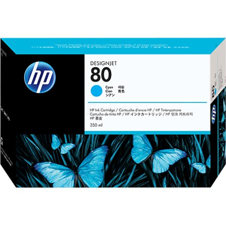 HP Inc. Cartridge HP 80 DsgJ 1000/1050C/1055CM, синий (350ml)