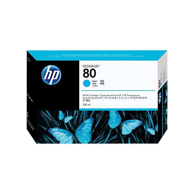 HP Inc. Cartridge HP 80 DsgJ 1000/1050C/1055CM, синий (350ml)