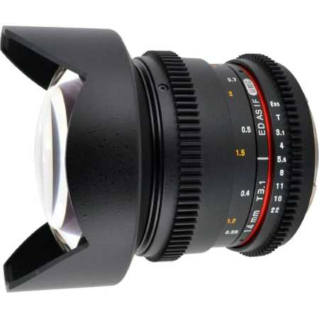 SAMYANG MF 14mm T3.1 ED AS IF UMC VDSLR Sony A
