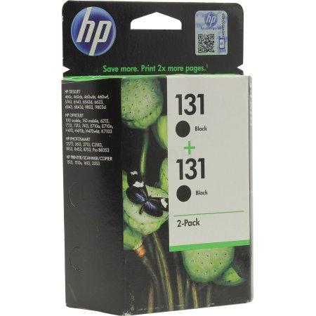 HP 131 C8765HE Черный, Картридж струйный, Стандартная, Черный