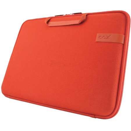 Cozistyle SmartSleeve Natural Cotton Canvas 15 Оранжевый/лава, Ткань