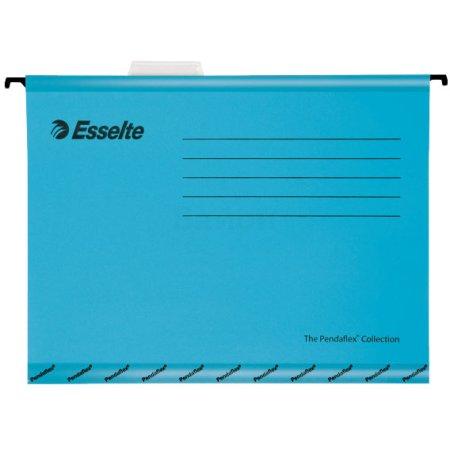 Папка подвесная Esselte Pendaflex Plus Foolscap синий (90334) (компл.:25шт)