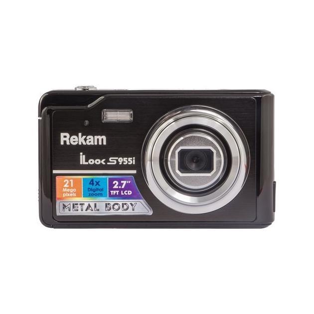 Rekam iLook S955i Черный, 21Цифровые и зеркальные фотоаппараты<br>Гарантия фирмы производителя 1 г., Тип камеры Цифровая , Цифровой зум (фото) 4, Мегапиксели 21, Цвет Черный ...<br><br>Артикул: 1092797<br>Тип камеры: Цифровая<br>Производитель: Rekam<br>Цвет товара: Черный<br>Мегапиксели: 21<br>Цифровой зум (фото): 4<br>Гарантия фирмы производителя: 1 г.