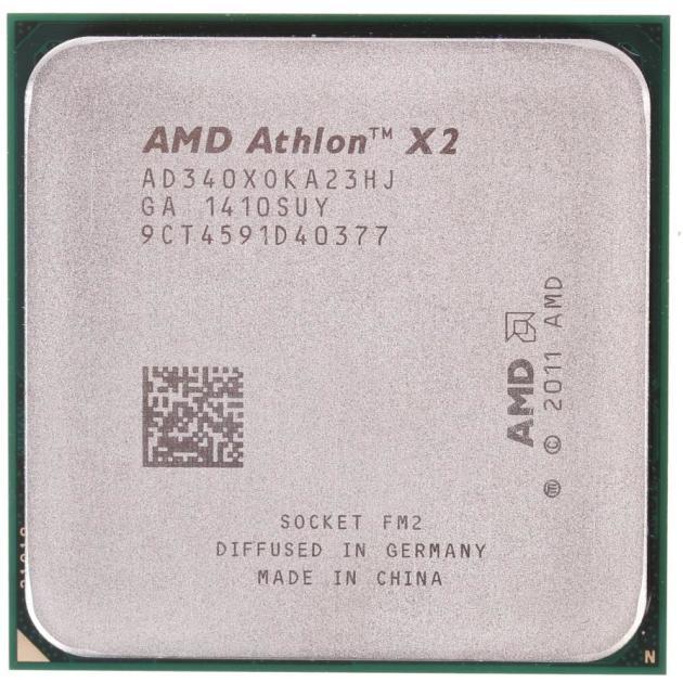 AMD Athlon X2 340 2 ядра, Tray