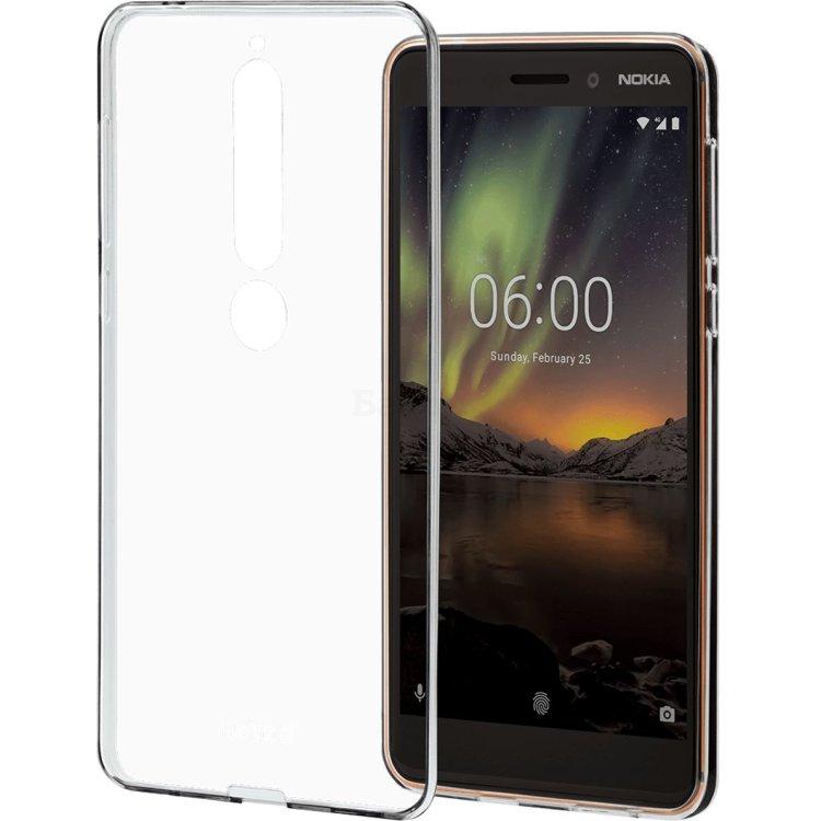Чехол Nokia 6.1 Clear Case Прозрачный