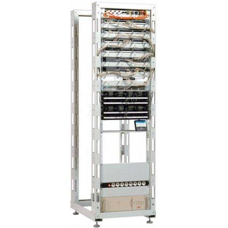 Стойка двухрамная ЦМО СТК-38.2 38U 620ммX800мм направл.закл.гайки 330кг серый