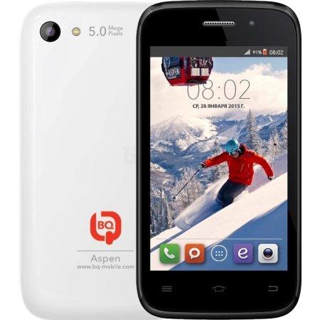 BQ 4010 Aspen 4Гб, Белый, Dual SIM, 3G