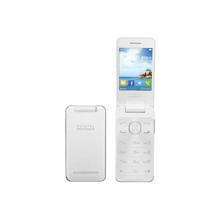 Alcatel OT 2012D Белый