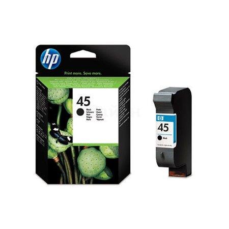 HP 45 Черный, Картридж струйный, Стандартная, нет