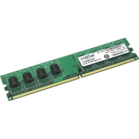 Crucial CT12864AA667 DDR2, 2, PC2-5300, 667, DIMM DDR2, 2, PC2-5300, 667, DIMM