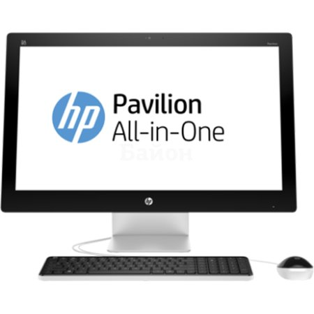 "HP Pavilion 27-n001ur 23"" нет, Серебристый"