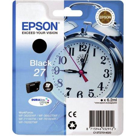 Epson C13T27014020 Черный, Картридж струйный, Стандартная, нет