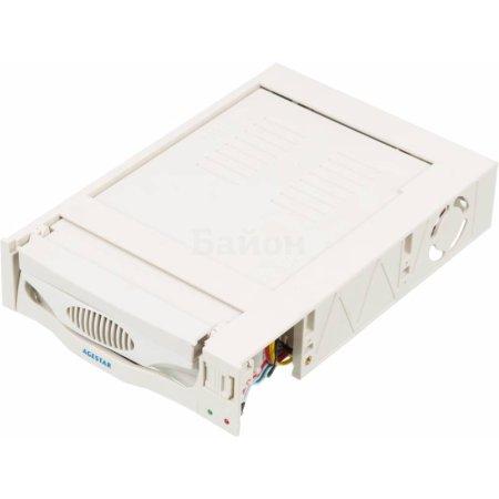 """Сменный бокс для HDD AgeStar MR3-SATASW-1F SATA II пластик бежевый 3.5"""""""