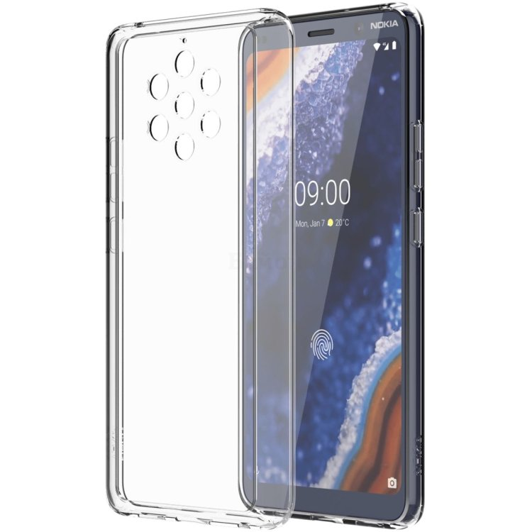 Чехол Nokia 9 PureView Premium Clear Case