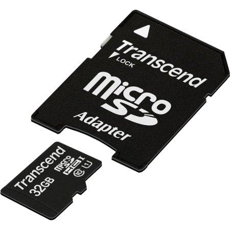 Transcend TS32GUSDU1 microSDHC, 32Гб