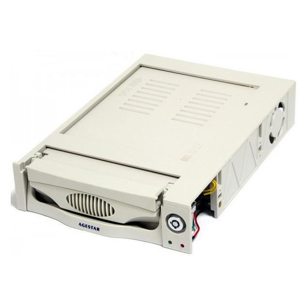 "Сменный бокс для HDD AgeStar MR3-SATA (k)-F SATA пластик стандартный 3.5"""