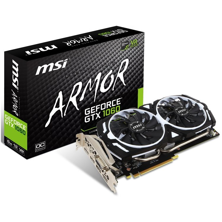 MSI NVIDIA GeForce GTX 1060 ARMOR v.1