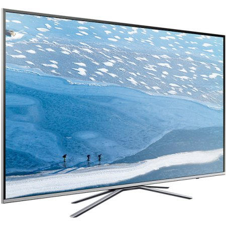 "Samsung UE40KU6400U 40"", Серебристый, 3840x2160, Wi-Fi, Вход HDMI"