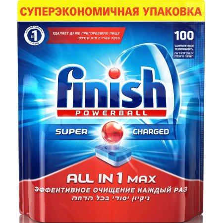 Средство для мытья посуды для посудомоечных машин Finish 3019843 (упак: 100шт)