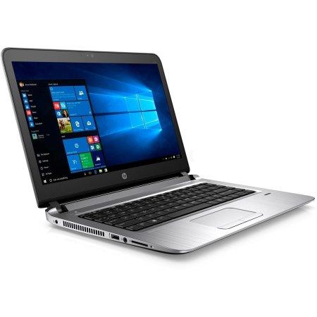 """HP ProBook 440 G3 W4N86EA 14"""", Intel Core i3, 2.3МГц, 4Гб RAM, DVD нет, 128Гб, Windows 7, Windows 10, Серый, Wi-Fi, Bluetooth"""