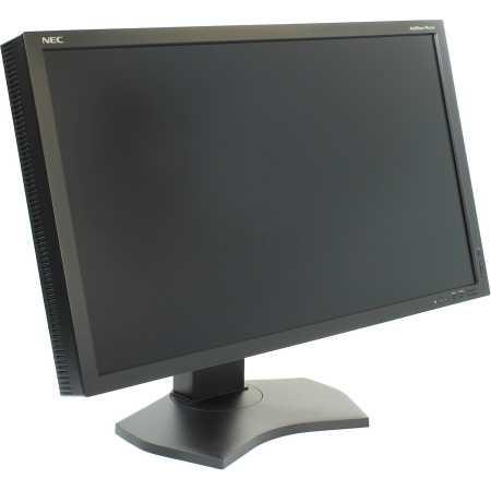 NEC MultiSync PA272W-SV2 Черный, DVI, HDMI, Full HD, USB
