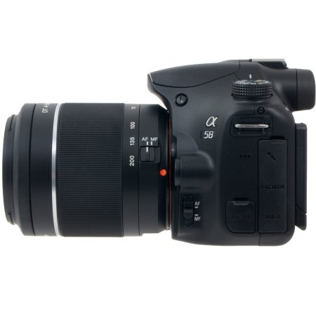 Sony Alpha SLT-A58 Kit Черный