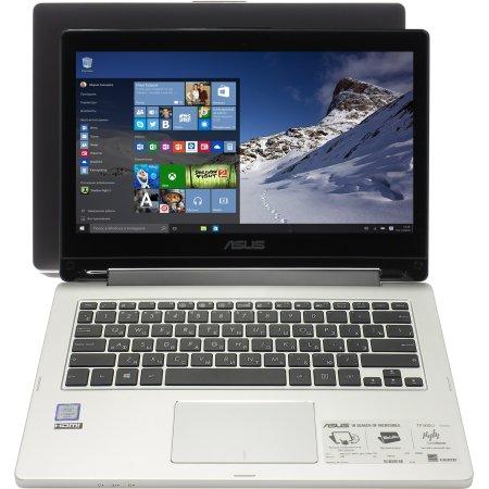 "Asus TP300UA 13.3"", Intel Core i7, 2500МГц, 4Гб RAM, DVD нет, 500Гб, Черный, Wi-Fi, Windows 10, Bluetooth"