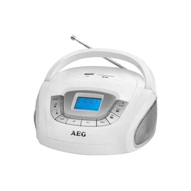 AEG SR 4373 Белый, CD SR4373w