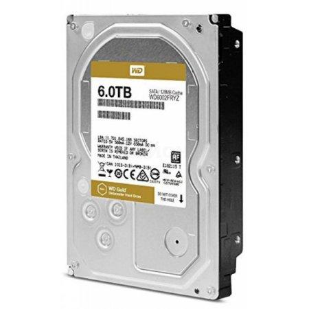 """Western Digital Gold WD6002FRYZ 6000Гб, 600, 3.5"""" HDD"""