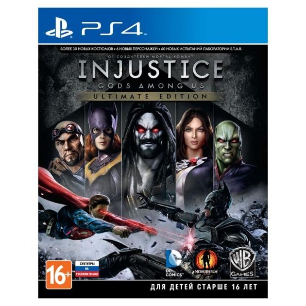 Injustice: Gods Among Us. Ultimate Edition Русский язык, Sony PlayStation 4, единоборства