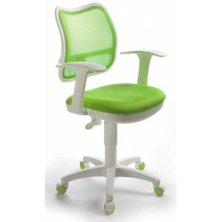 Кресло Бюрократ CH-W797/SD/TW-18 спинка сетка салатовый сиденье салатовый TW-18 пластик белый
