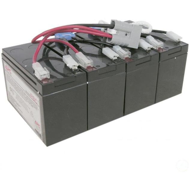 APC by Schneider Electric Battery replacement kit for SU1400RMXLI3U, SU1400RMXLIB3U (сборка из 4 батарей)