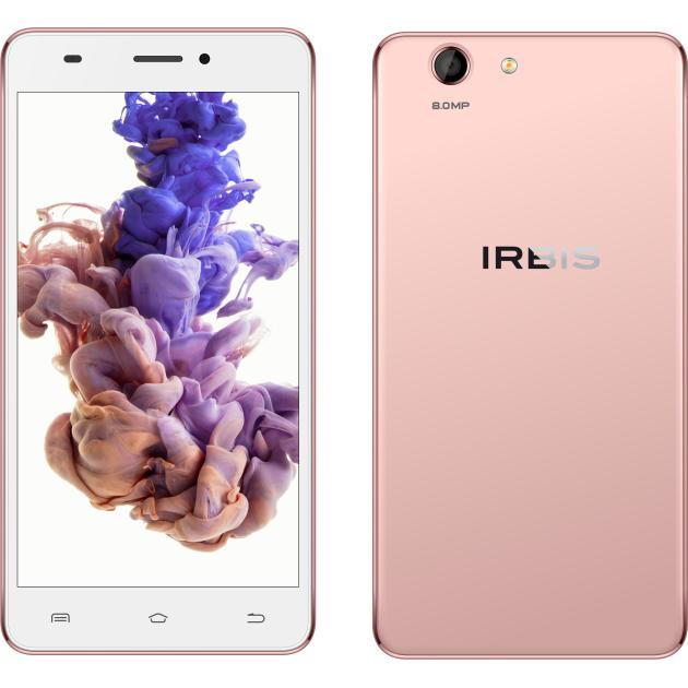 Irbis SP56 РозовыйСмартфоны<br>Операционная система Android , 3G, Фотокамера 8.0 Мп, SIM-карты Dual SIM , 4G (LTE)...<br><br>Артикул: 1275234<br>Производитель: Irbis<br>Цвет: Розовый<br>Операционная система: Android<br>SIM-карты: Dual SIM<br>Размер экрана: 5.5  (14 см)<br>4G (LTE): Да<br>3G: Да<br>Оперативная память (RAM): 1 Гб<br>Встроенная память: 8 Гб<br>Фотокамера: 8.0 Мп