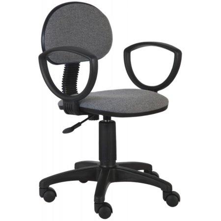 Кресло Бюрократ CH-213AXN темно-серый 10-128