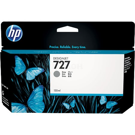 HP Inc. Cartridge HP 727 серый для HP DJ T920/T1500  130 мл