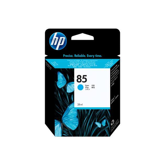 HP 85 Синий, Картридж струйный, Стандартная, нет